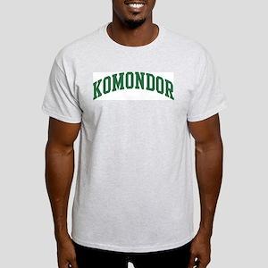 Komondor (green) Light T-Shirt