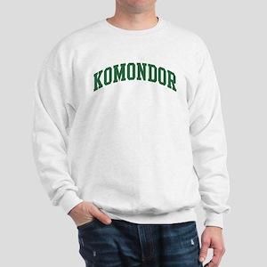 Komondor (green) Sweatshirt