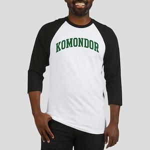 Komondor (green) Baseball Jersey