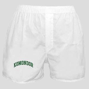Komondor (green) Boxer Shorts
