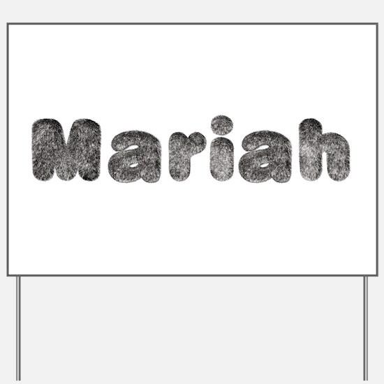 Mariah Wolf Yard Sign