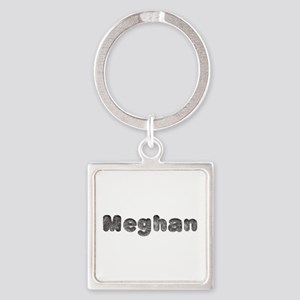 Meghan Wolf Square Keychain