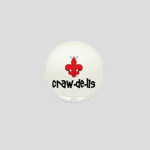 The ORIGINAL craw-de-lis Mini Button