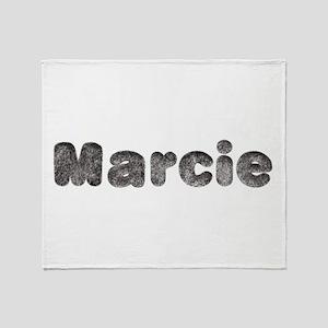 Marcie Wolf Throw Blanket