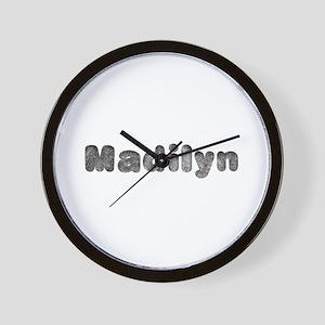Madilyn Wolf Wall Clock