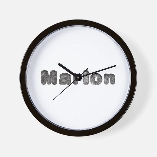 Marlon Wolf Wall Clock