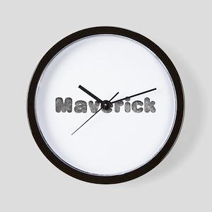 Maverick Wolf Wall Clock