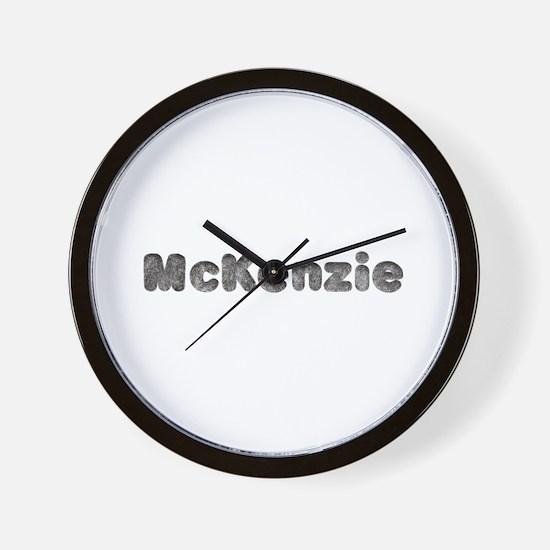 McKenzie Wolf Wall Clock