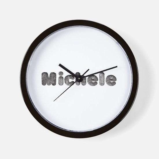 Michele Wolf Wall Clock
