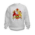 Zachary Family Crest Kids Sweatshirt