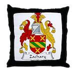 Zachary Family Crest Throw Pillow