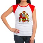 Zachary Family Crest Women's Cap Sleeve T-Shirt