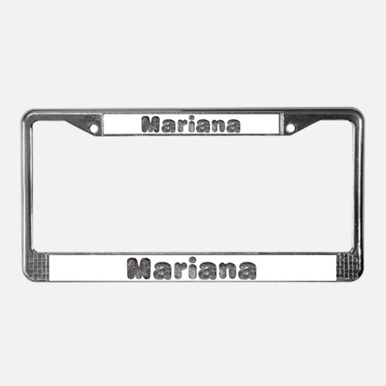 Mariana Wolf License Plate Frame