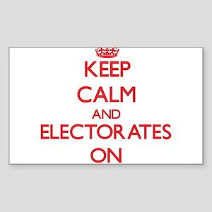 ELECTORATES Sticker
