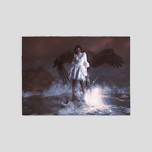The Last Angel 5'x7'Area Rug