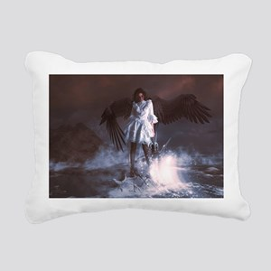 The Last Angel Rectangular Canvas Pillow