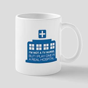 Not Nurse On Tv Mugs