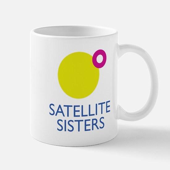 Satellite Sisters Logo Mugs