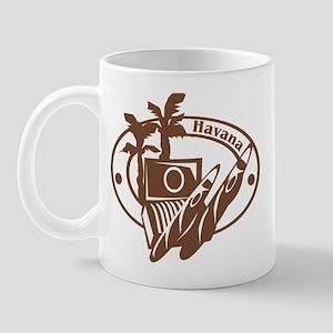 Havana Passport Stamp Mug