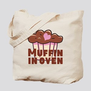 Pink Chocolate Muffin Tote Bag