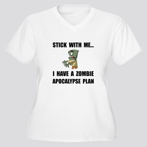 Zombie Plan Plus Size T-Shirt