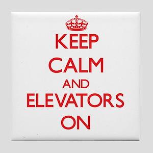 ELEVATORS Tile Coaster