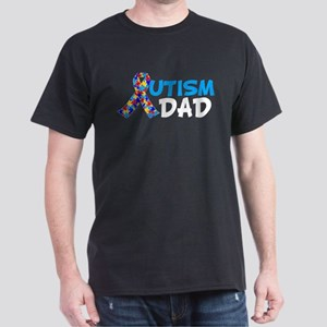 Autism Dad Blue Dark T-Shirt