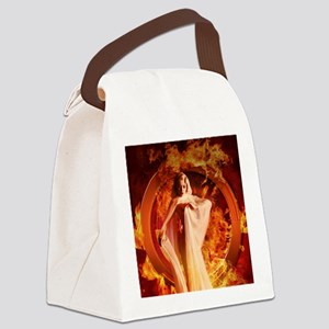 Goddess of Fire Canvas Lunch Bag