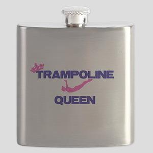 Trampoline Queen Flask