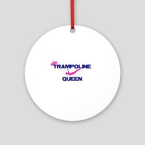 Trampoline Queen Ornament (Round)