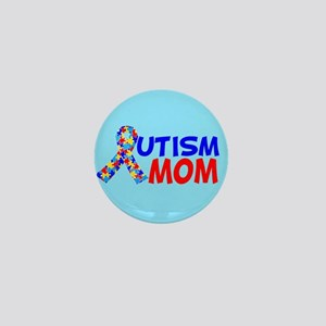 Autism Mom Mini Button