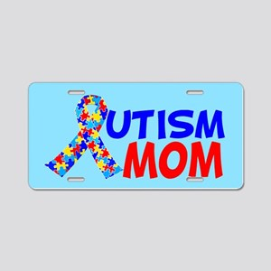 Autism Mom Aluminum License Plate