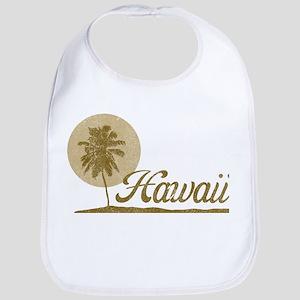 Palm Tree Hawaii Bib