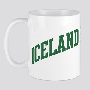 Iceland Sheepdog (green) Mug