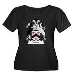 Yaxley Family Crest Women's Plus Size Scoop Neck D