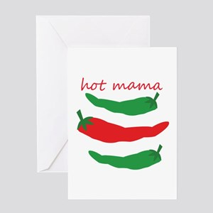 Hot Mama Greeting Cards