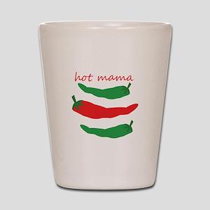 Hot Mama Shot Glass