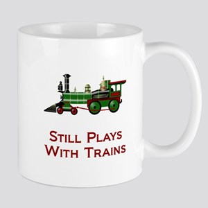 Still Plays With Trains Mugs