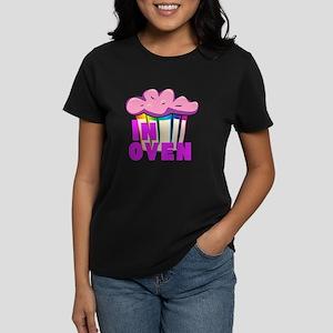Pink Muffin In Oven Women's Dark T-Shirt