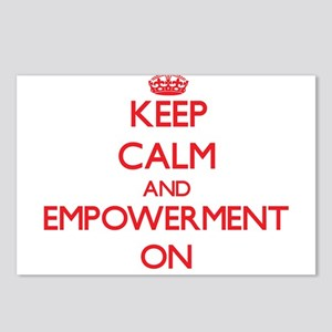 EMPOWERMENT Postcards (Package of 8)