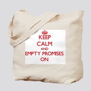 Empty Promises Tote Bag