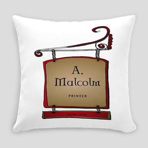 Jamie A. Malcolm Printer Everyday Pillow
