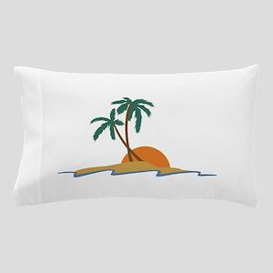 Beach Scene Pillow Case
