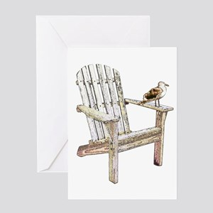 Adirondack Chair Greeting Card