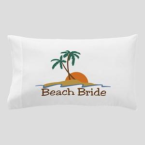 Beach Bride Pillow Case