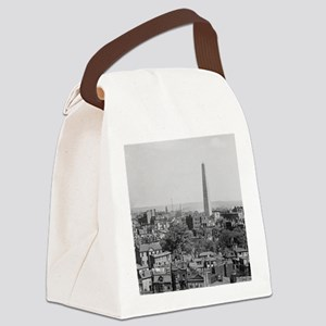 Vintage Photograph of Charlestown Canvas Lunch Bag