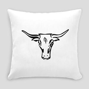 Longhorns Everyday Pillow