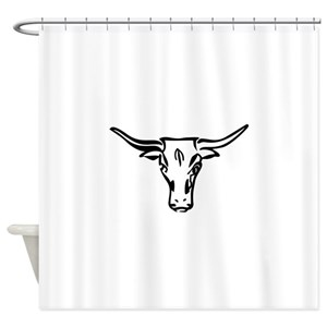 Longhorn Shower Curtains