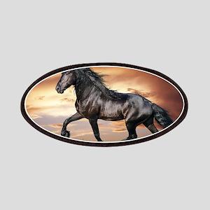 Beautiful Black Horse Patch