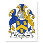 Wyndham Family Crest Small Poster